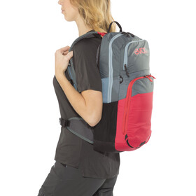 EVOC CC Lite Performance Backpack 16l + 2l Bladder slate-red